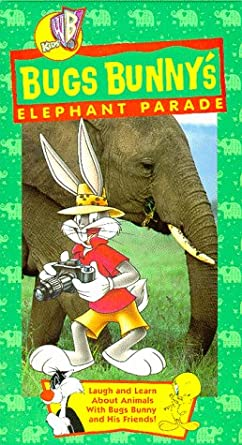 Bugs Bunny: Elephant Parade (1998 VHS)