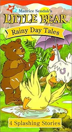 Little Bear: Rainy Day Tales (2000 VHS)