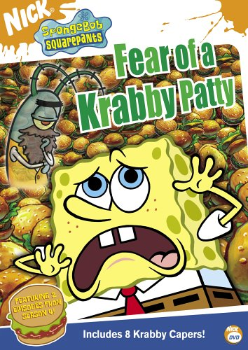 SpongeBob SquarePants: Fear of a Krabby Patty (2005 DVD)