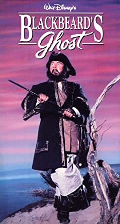 Blackbeard's Ghost (1990 VHS)
