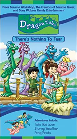 Dragon Tales: There's Nothing to Fear! (2002 VHS)