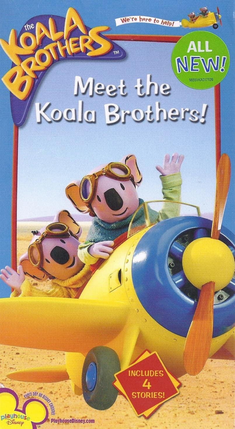 The Koala Brothers: Meet The Koala Brothers! (2005 VHS)