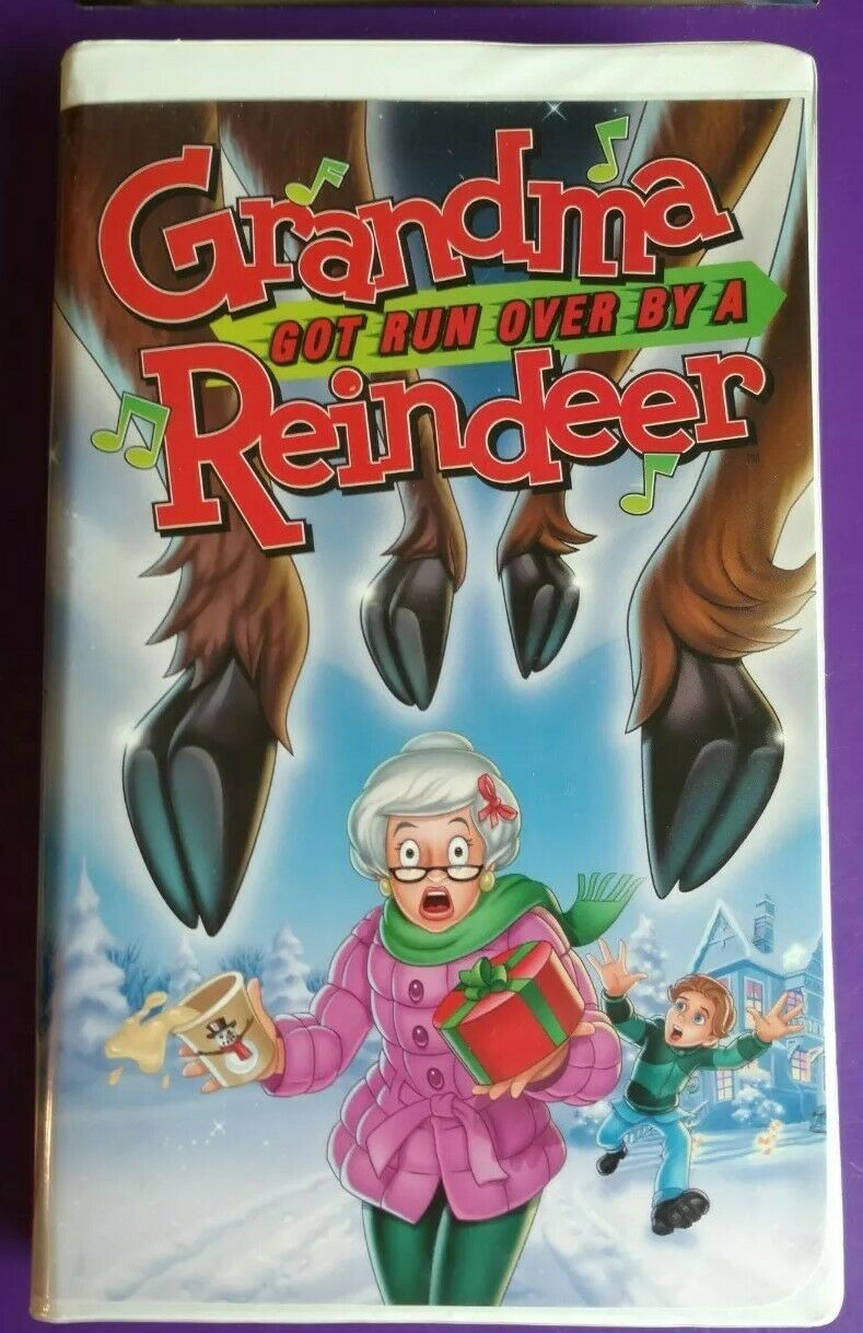 Grandma Got Run Over by a Reindeer (2000-2001 VHS)