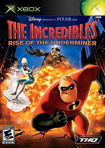 The Incredibles Rise of the Underminer (2005 Video Game)