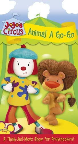JoJo's Circus: Animal A Go-Go (2005 VHS)