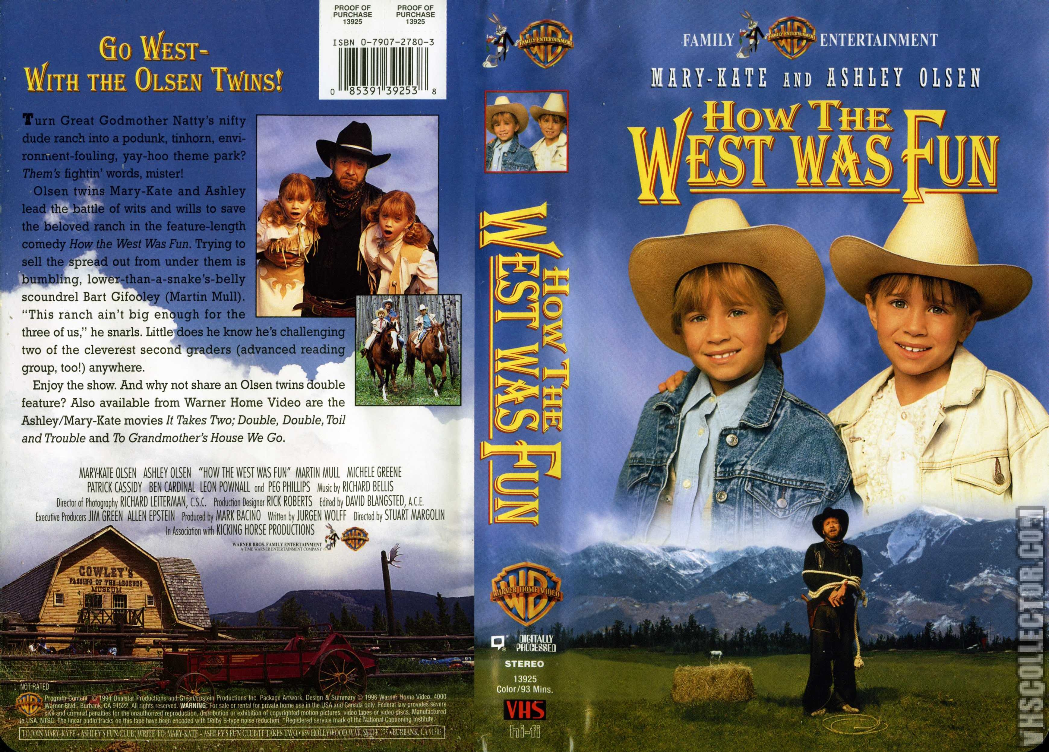 How the West Was Fun (1996-2003 VHS)