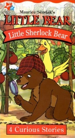 Little Bear: Little Sherlock Bear (2001 VHS)