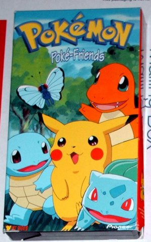 Pokemon Poke-Friends (1999 VHS)
