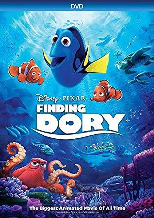 Finding Dory (2016 DVD/Blu-Ray)