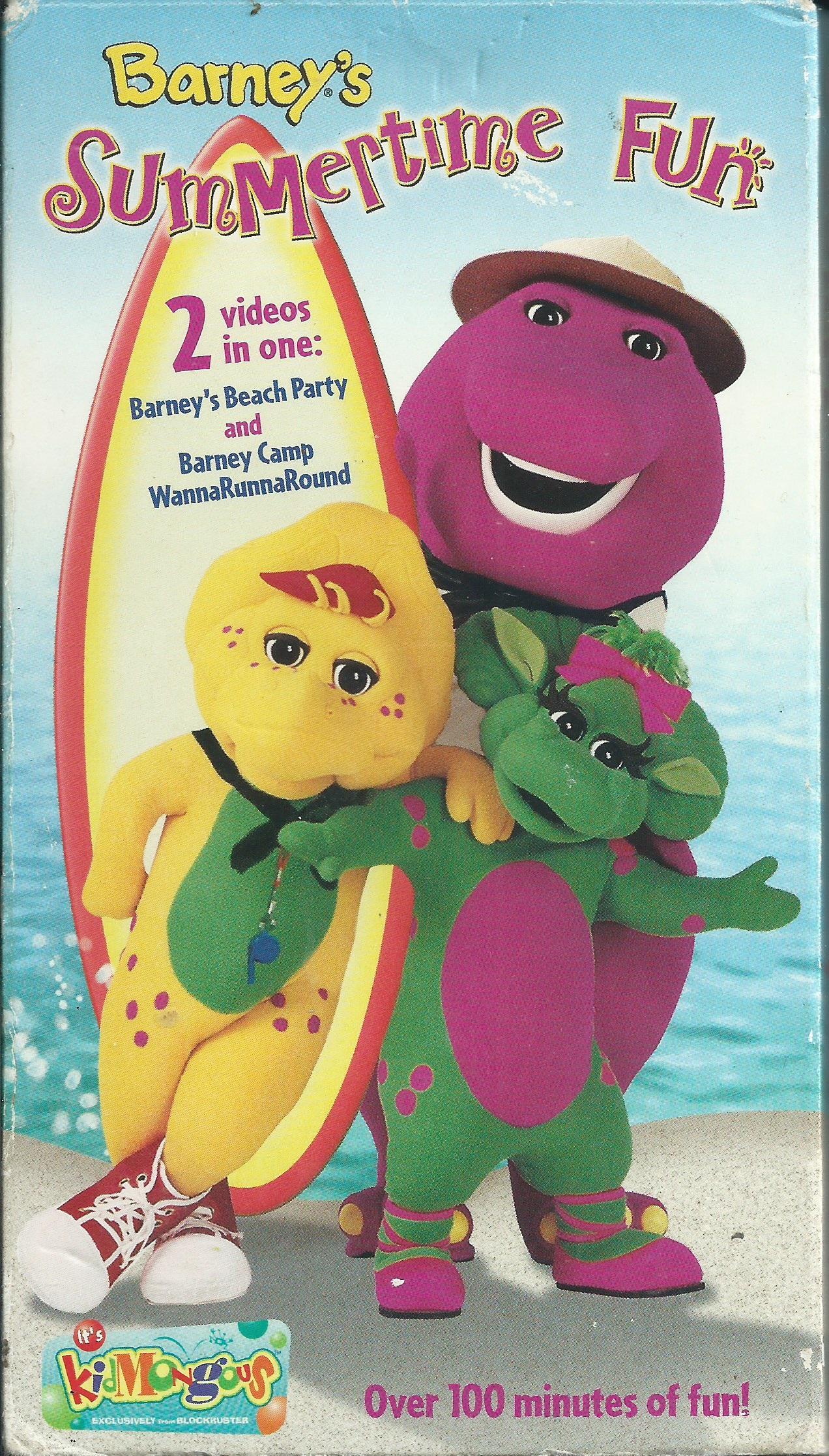 Barney: Barney's Summertime Fun (2002 VHS)