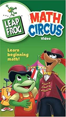 LeapFrog: Math Circus (2004 VHS)