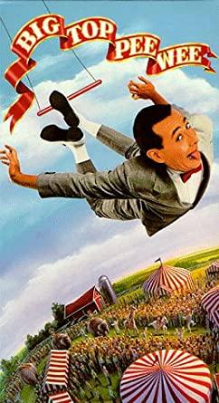 Big Top Pee-Wee (1988 VHS)