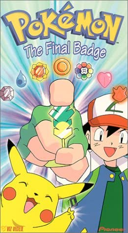 Pokemon The Final Badge (2000 VHS)