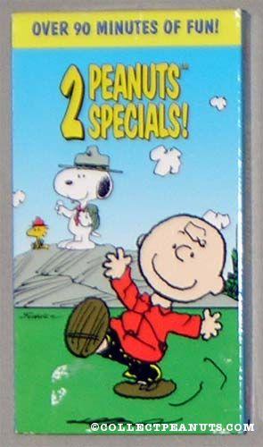 Peanuts: 2 Peanuts Specials! (1997 VHS)