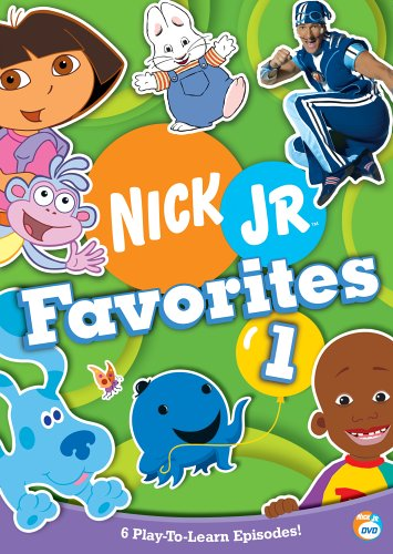 Nick Jr Favorites 1 (2005 DVD)