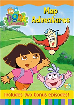 Dora the Explorer: Map Adventures (2003 DVD)