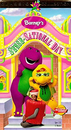 Barney's Sense-Sational Day (VHS)