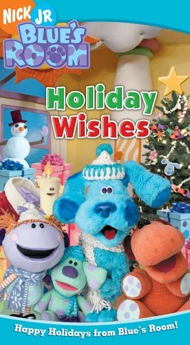 Blue's Room: Holiday Wishes (2005 VHS)
