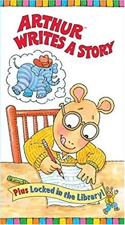 Arthur Writes a Story (1997 VHS)