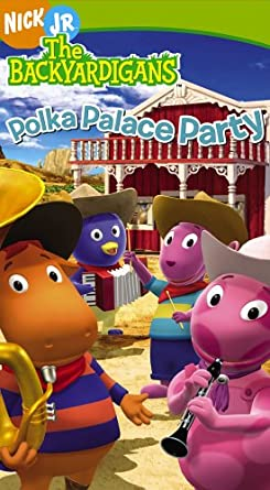 The Backyardigans: Polka Palace Party (2006 VHS)
