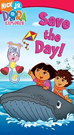 Dora the Explorer: Save the Day! (2006 VHS)