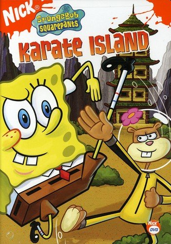 SpongeBob SquarePants: Karate Island (2006 DVD)