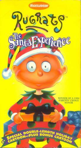Rugrats: The Santa Experience (1996 VHS)
