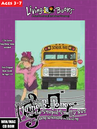 Junie B. Jones and the Stupid Smelly Bus (1996 PC Game)