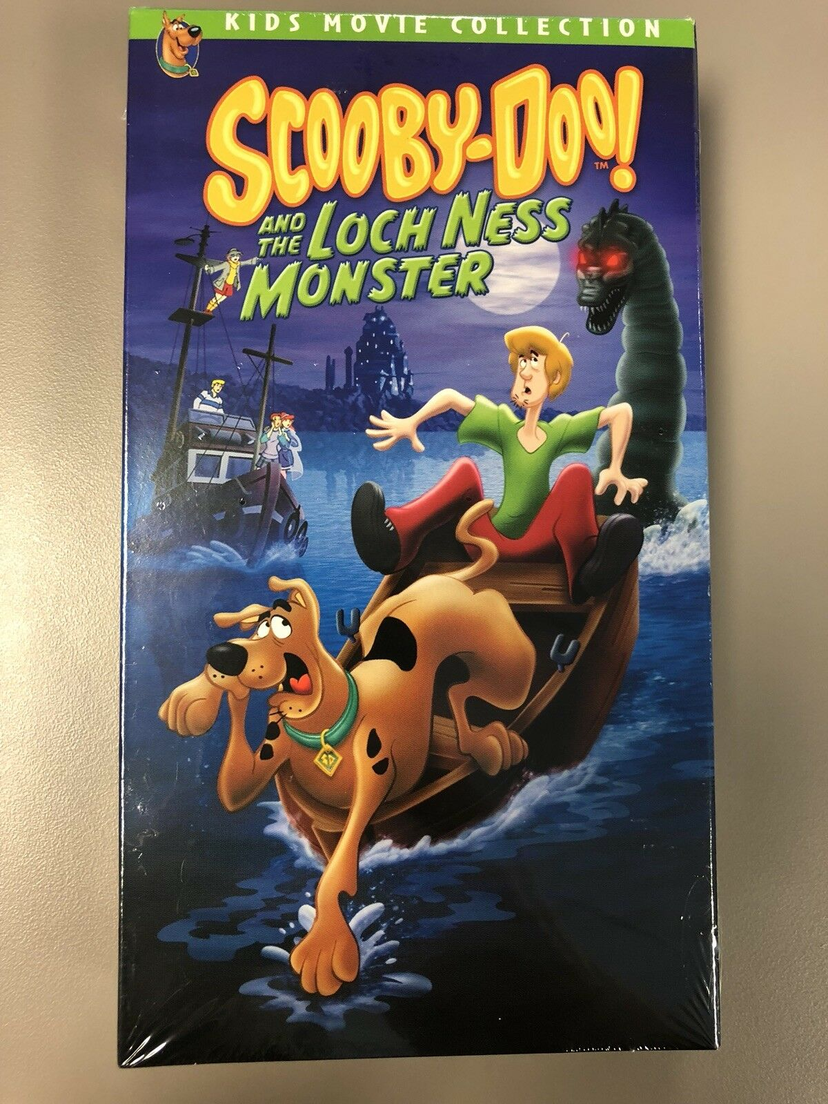 Scooby-Doo and the Loch Ness Monster (2004 DVD & VHS)