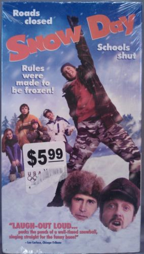 Snow Day (2000 VHS)