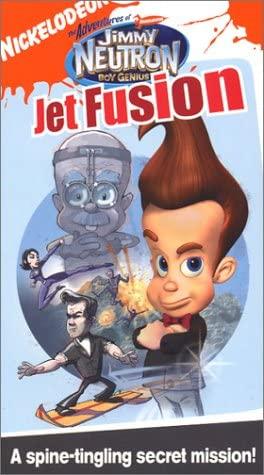 The Adventures of Jimmy Neutron Boy Genius: Jet Fusion (2004 VHS)