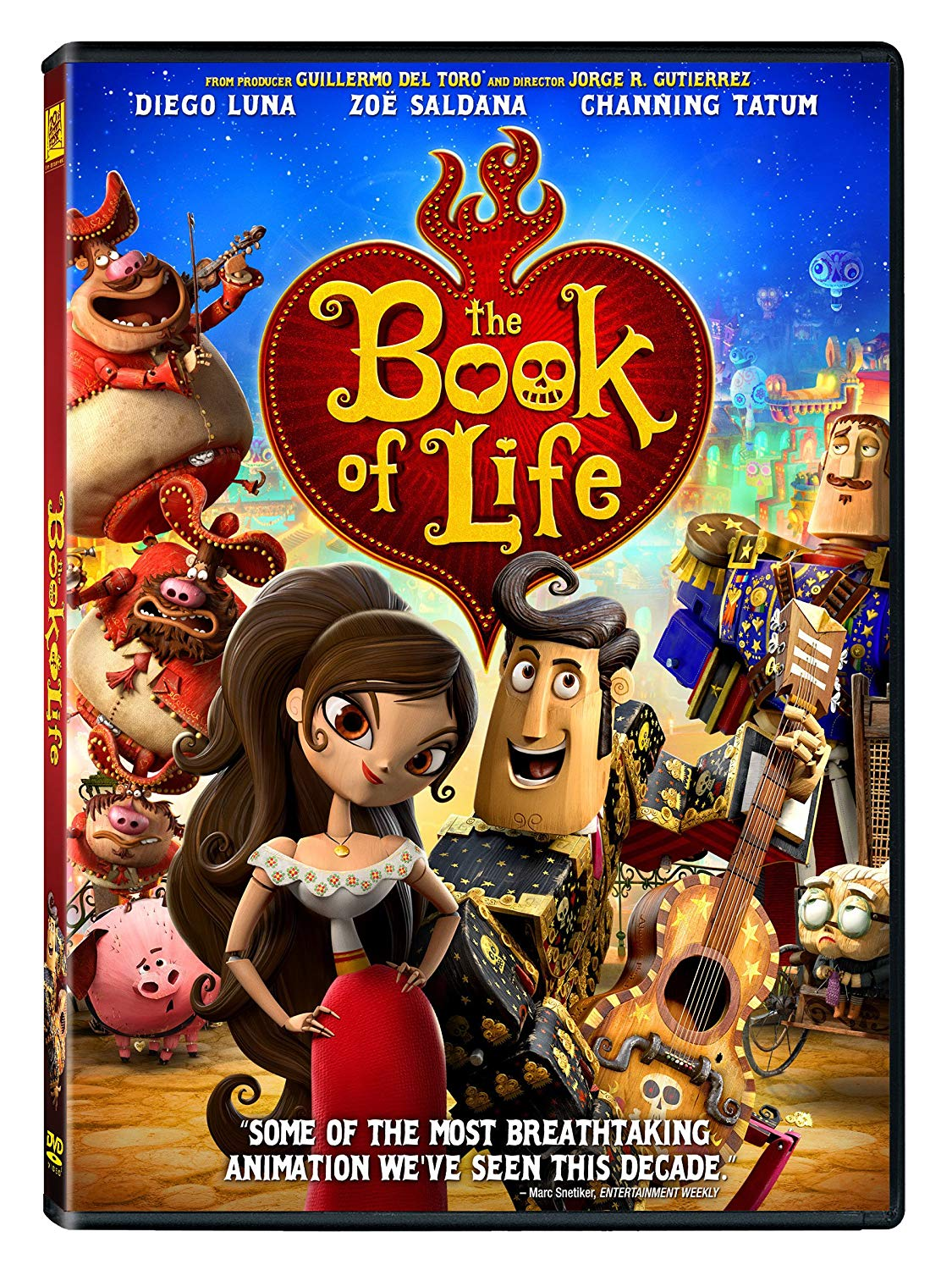 The Book of Life (2015 DVD)