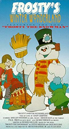 Frosty's Winter Wonderland (1992-2001 VHS)