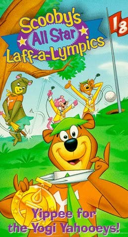 Scooby's All Star Laff-a-Lympics: Yippee for the Yogi Yahooeys! (1996 VHS)