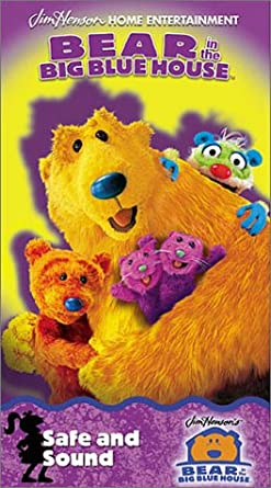 Bear in the Big Blue House: Safe & Sound (2001 VHS)