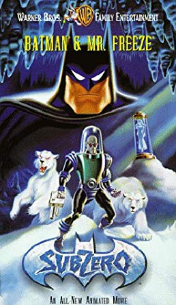 Batman & Mr. Freeze: SubZero (1998-2003 VHS)