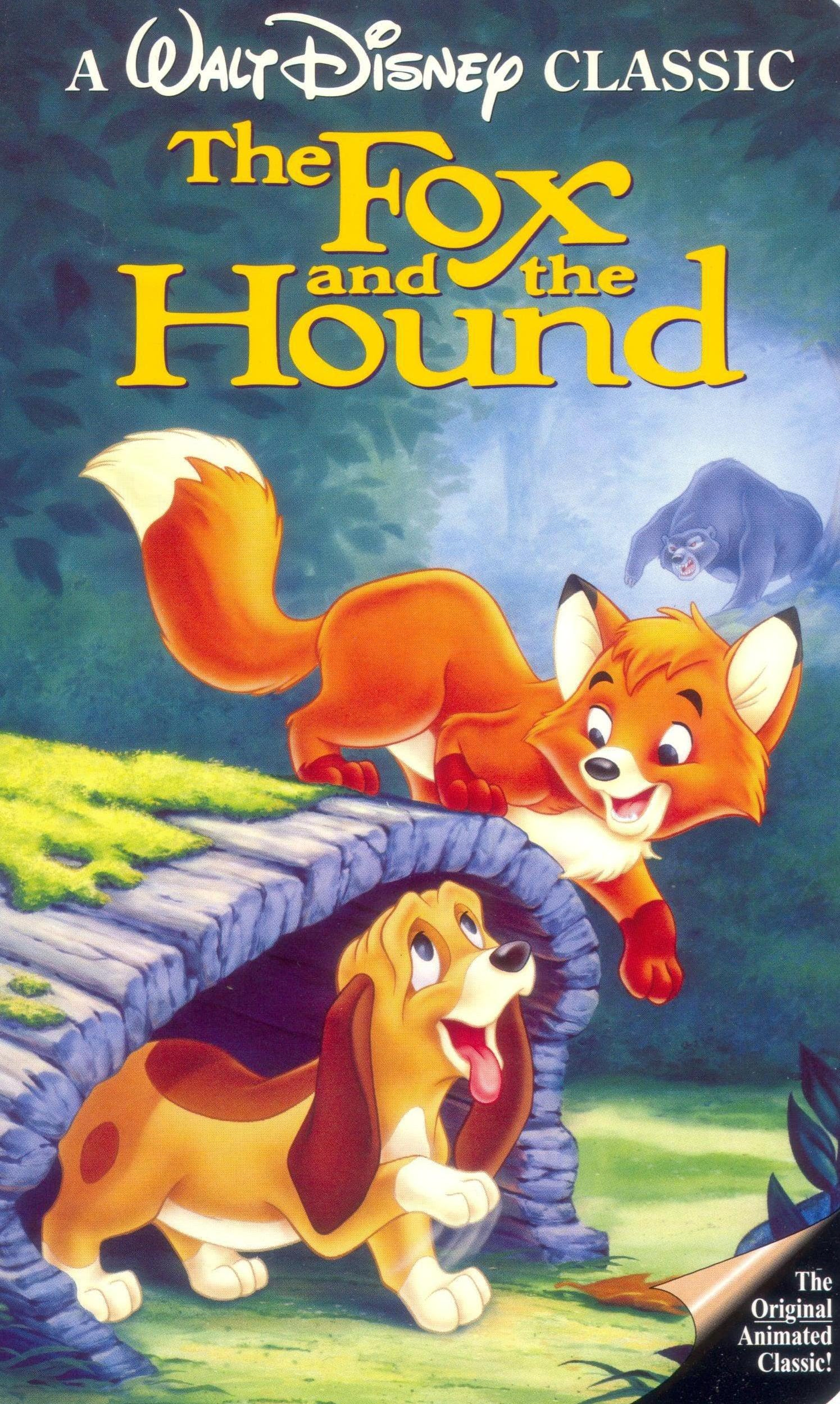 The Fox and the Hound (1994 VHS)