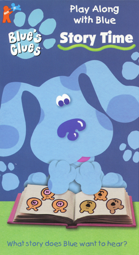 Blue's Clues: Story Time (1998 VHS)