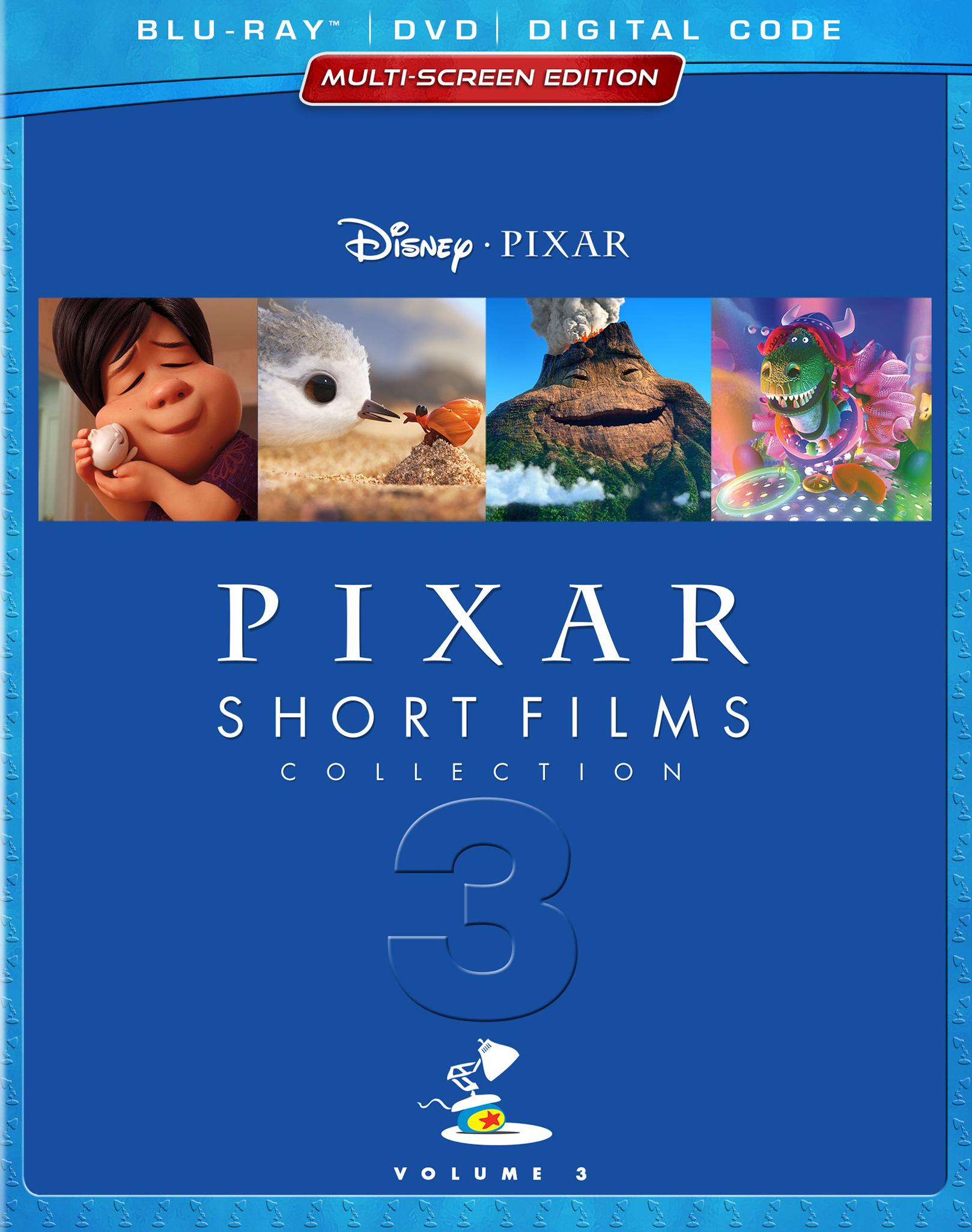 Pixar Short Films Collection Volume 3 (2018 DVD)