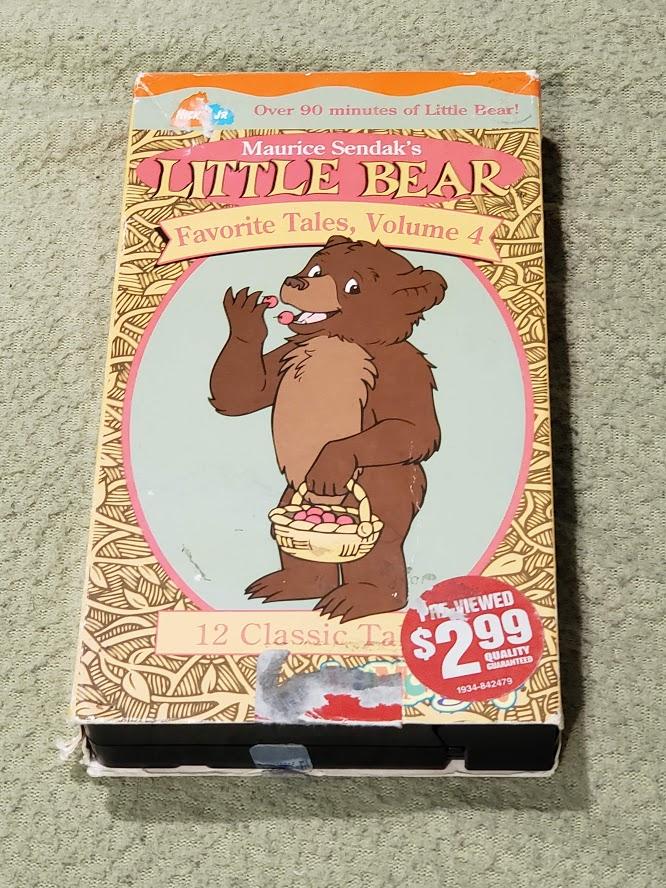 Little Bear: Favorite Tales Volume 4 (2002 VHS)