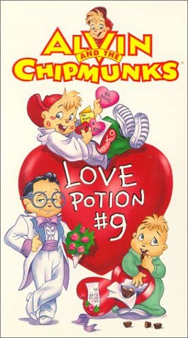 Alvin and the Chipmunks: Love Potion (1994 VHS)