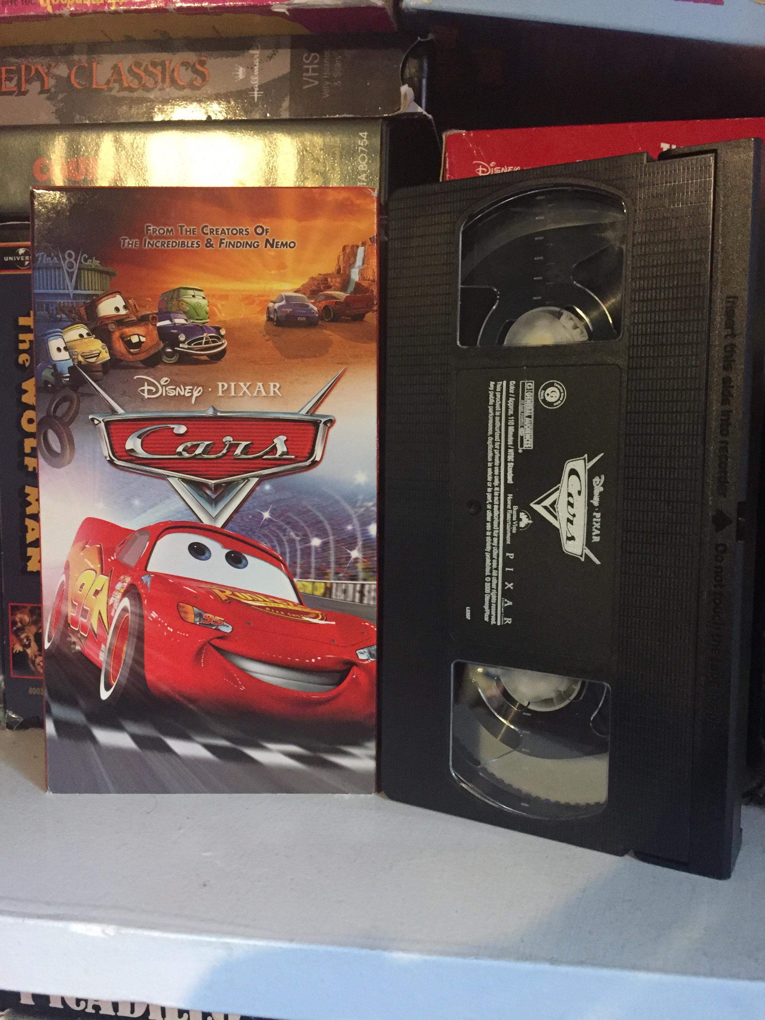 Cars (2007 VHS)