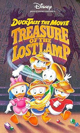 DuckTales the Movie: Treasure of the Lost Lamp (VHS)