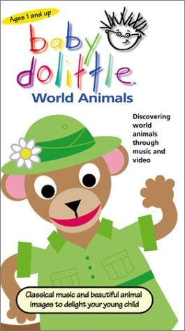 Baby Dolittle World Animals (2001-2004 VHS)