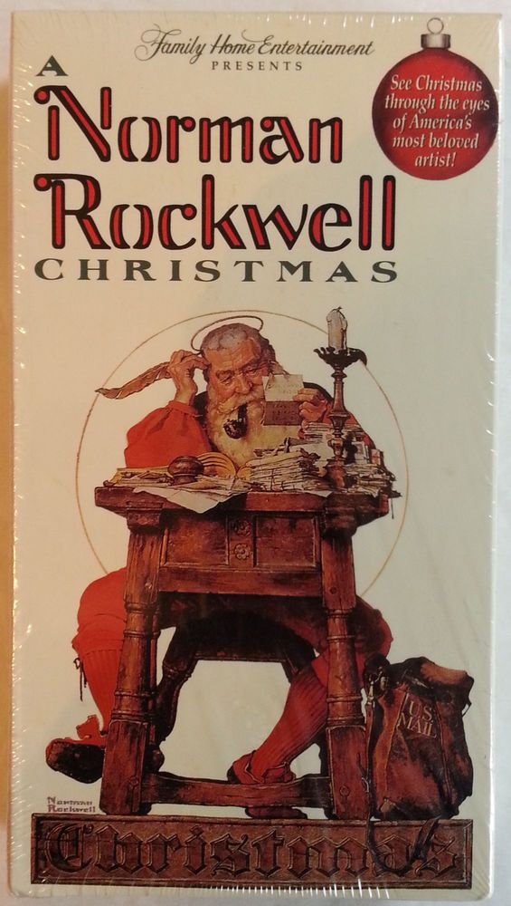 A Norman Rockwell Christmas (1993-2000 VHS)