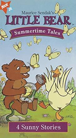 Little Bear; Summertime Tales (1999 VHS)