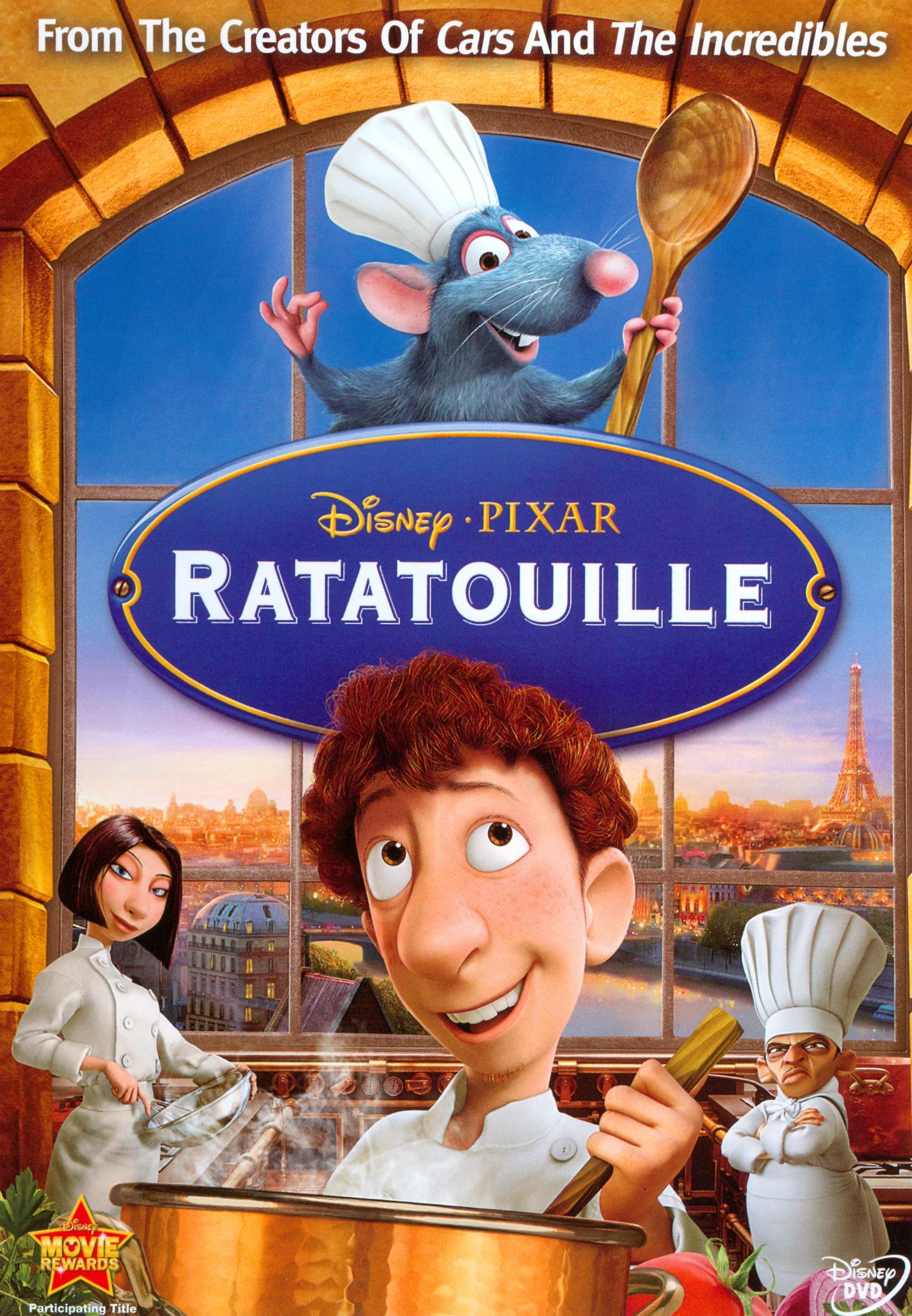 Ratatouille (2007 DVD)