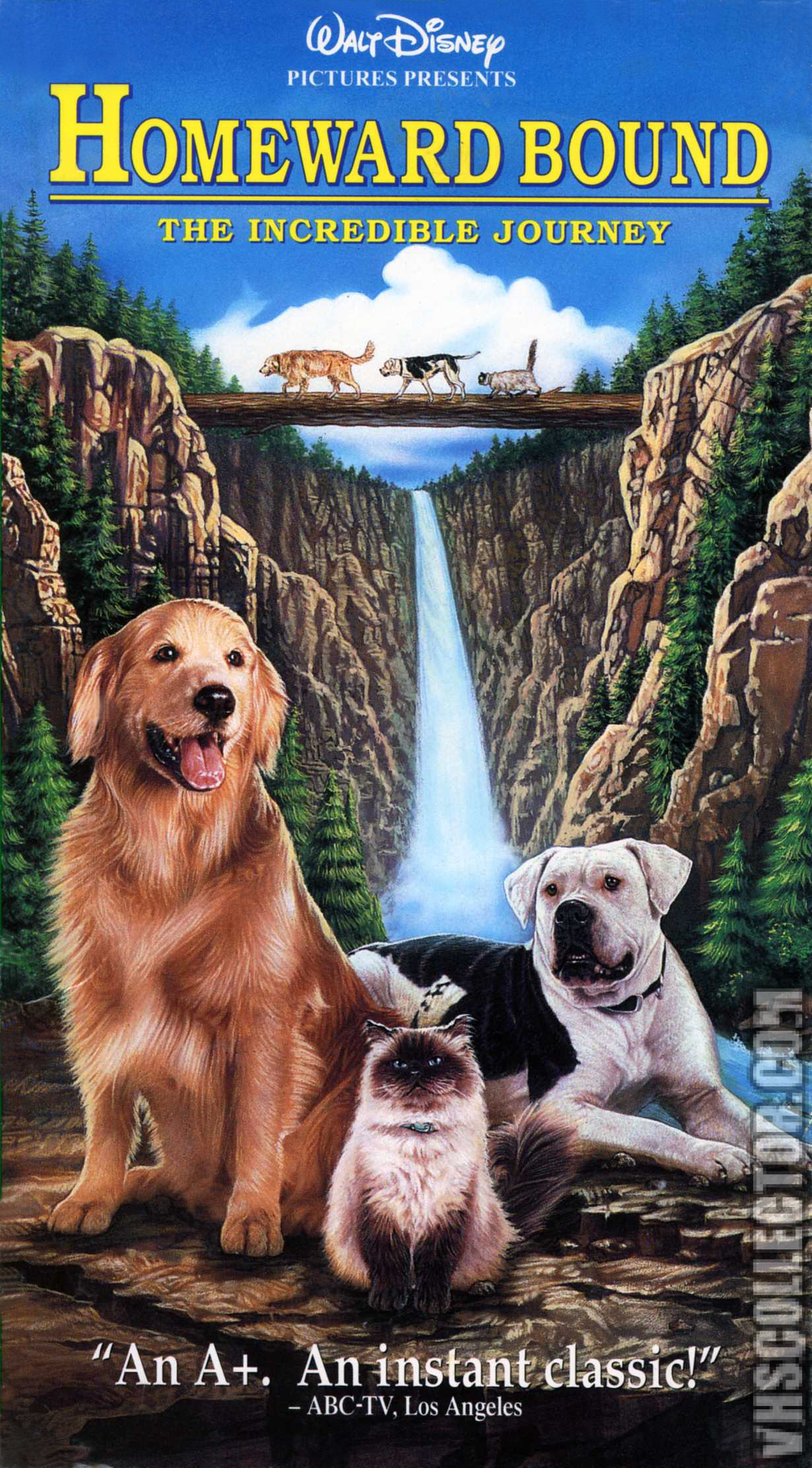 Homeward Bound (1993 VHS)