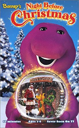 Barney: Barney's Night Before Christmas (1999-2000 VHS)