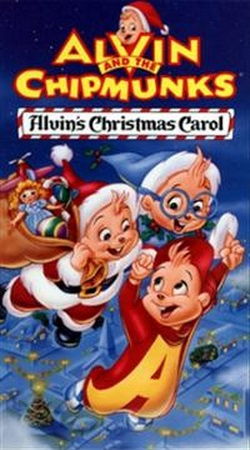 Alvin and the Chipmunks: Alvin's Christmas Carol (1993 VHS)
